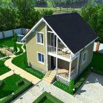 проект блочного дома