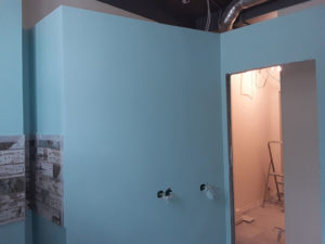 Окраска стен в офисе