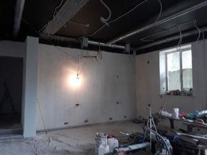 Молярная подготовка стен